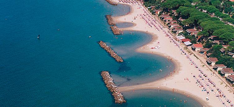 Tuscany maremma sea